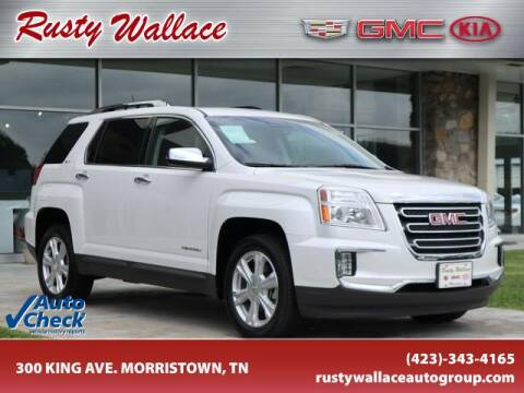 2017 GMC Terrain for sale at RUSTY WALLACE CADILLAC GMC KIA in Morristown TN