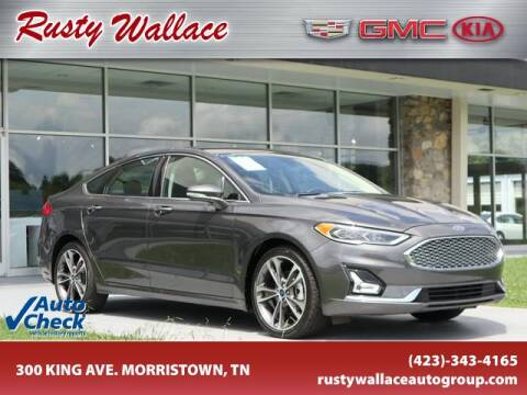 2019 Ford Fusion for sale at RUSTY WALLACE CADILLAC GMC KIA in Morristown TN