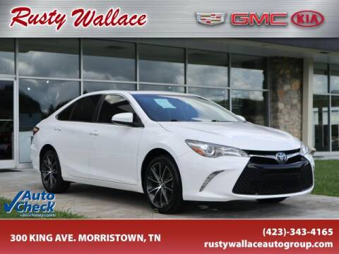 2017 Toyota Camry for sale at RUSTY WALLACE CADILLAC GMC KIA in Morristown TN