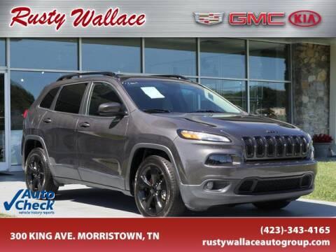 2018 Jeep Cherokee for sale at RUSTY WALLACE CADILLAC GMC KIA in Morristown TN