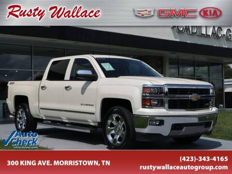 2014 Chevrolet Silverado 1500 for sale at RUSTY WALLACE CADILLAC GMC KIA in Morristown TN