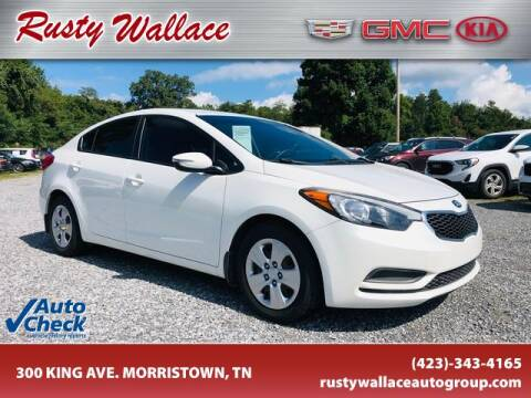 2017 Chevrolet Cruze for sale at RUSTY WALLACE CADILLAC GMC KIA in Morristown TN