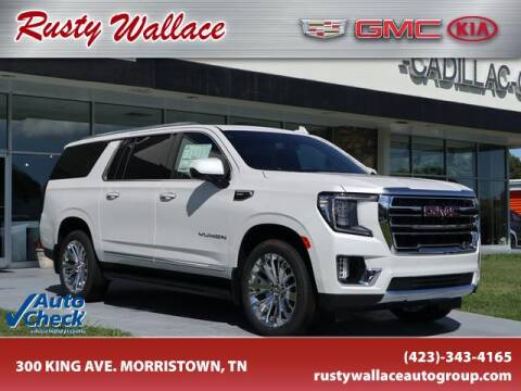2021 GMC Yukon XL for sale at RUSTY WALLACE CADILLAC GMC KIA in Morristown TN