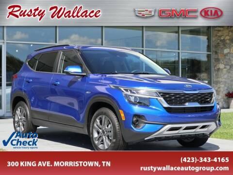 2021 Kia Seltos for sale at RUSTY WALLACE CADILLAC GMC KIA in Morristown TN