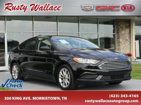 2017 Ford Fusion for sale at RUSTY WALLACE CADILLAC GMC KIA in Morristown TN