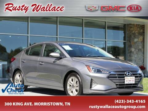 2019 Hyundai Elantra for sale at RUSTY WALLACE CADILLAC GMC KIA in Morristown TN