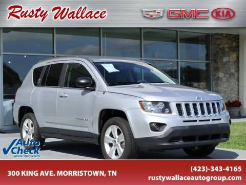 2014 Jeep Compass for sale at RUSTY WALLACE CADILLAC GMC KIA in Morristown TN