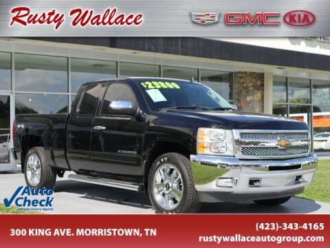 2013 Chevrolet Silverado 1500 for sale at RUSTY WALLACE CADILLAC GMC KIA in Morristown TN