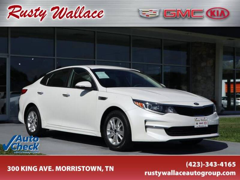 2016 Kia Optima for sale at RUSTY WALLACE CADILLAC GMC KIA in Morristown TN