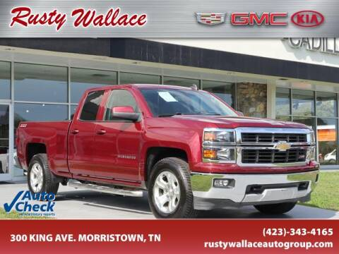 2015 Chevrolet Silverado 1500 for sale at RUSTY WALLACE CADILLAC GMC KIA in Morristown TN