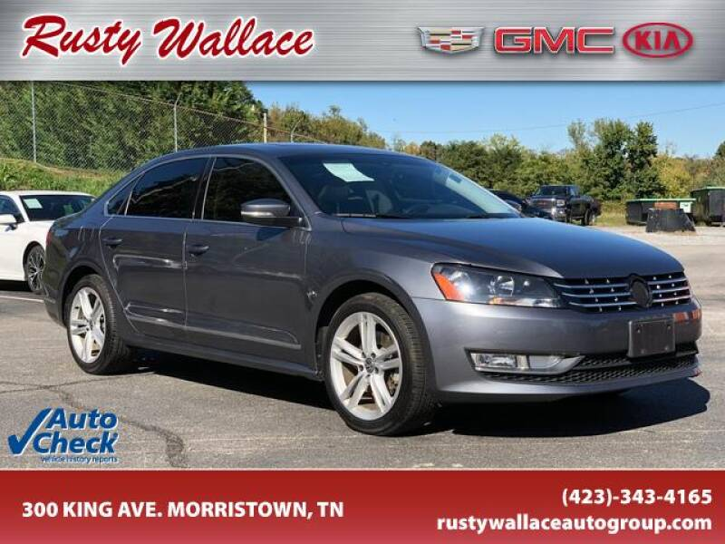 2014 Volkswagen Passat for sale at RUSTY WALLACE CADILLAC GMC KIA in Morristown TN