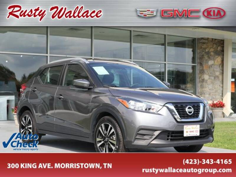 2019 Nissan Kicks for sale at RUSTY WALLACE CADILLAC GMC KIA in Morristown TN