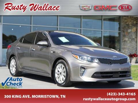 2018 Kia Optima for sale at RUSTY WALLACE CADILLAC GMC KIA in Morristown TN
