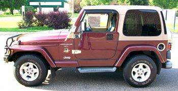 2001 Jeep Wrangler for sale in Blaine, MN