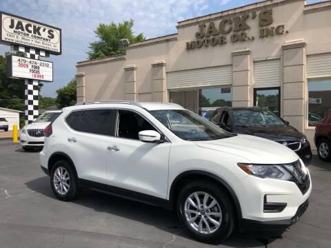 2019 Nissan Rogue for sale at JACK'S MOTOR COMPANY in Van Buren AR