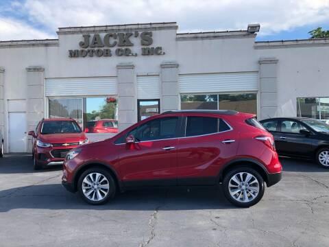 2019 Buick Encore for sale at JACK'S MOTOR COMPANY in Van Buren AR