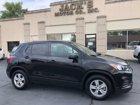2020 Chevrolet Trax for sale at JACK'S MOTOR COMPANY in Van Buren AR
