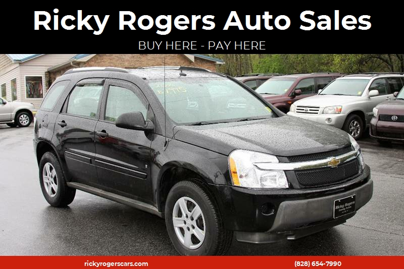 Elegant 2006 Chevrolet Equinox For Sale At Ricky Rogers Auto Sales In Arden NC