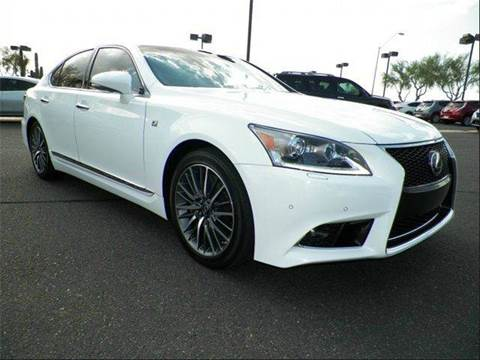2013 Lexus LS 460 for sale at First Union Auto in Seattle WA