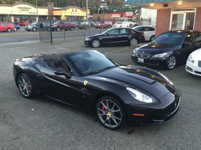 2012 Ferrari California for sale at First Union Auto in Seattle WA