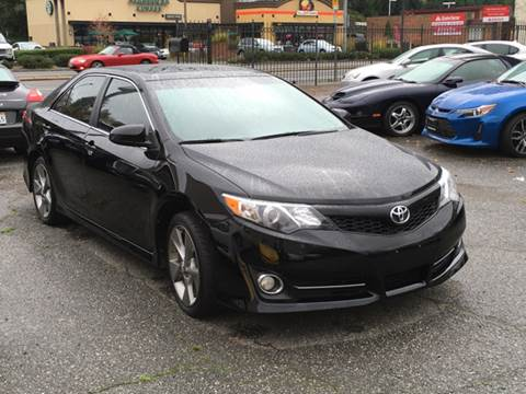 2012 Toyota Camry for sale at First Union Auto in Seattle WA