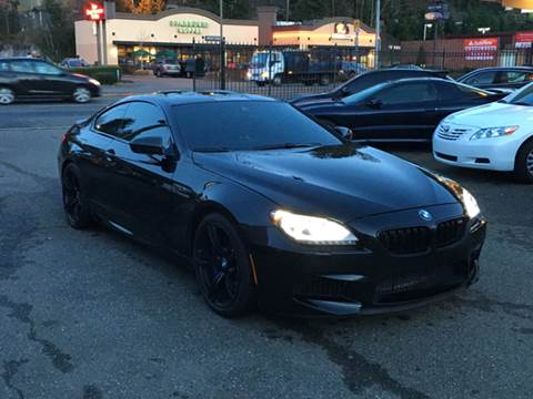 2013 BMW M6 for sale at First Union Auto in Seattle WA
