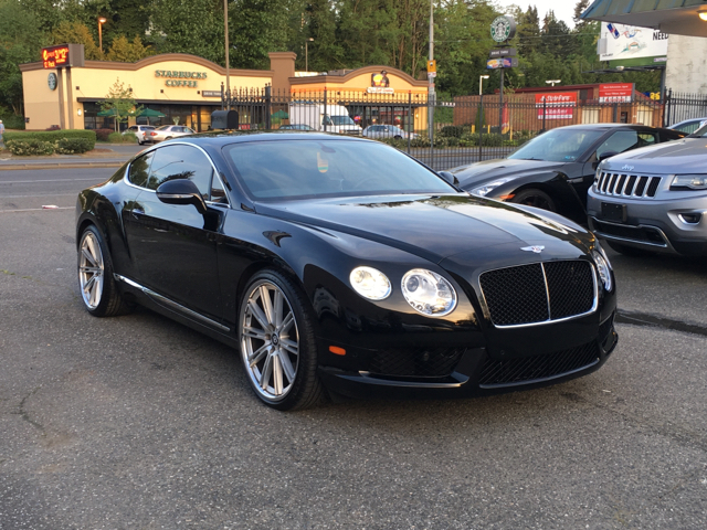 2014 Bentley Continental GT V8 for sale at First Union Auto in Seattle WA