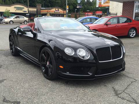 2014 Bentley Continental GTC V8 S for sale at First Union Auto in Seattle WA
