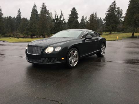 2014 Bentley Continental GT for sale at First Union Auto in Seattle WA