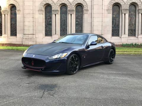 2013 Maserati GranTurismo for sale at First Union Auto in Seattle WA