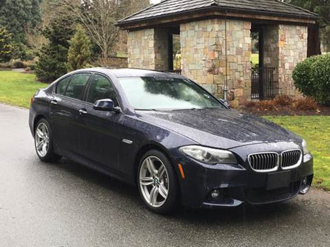 2014 BMW 5 Series for sale at First Union Auto in Seattle WA