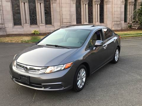 2012 Honda Civic for sale at First Union Auto in Seattle WA