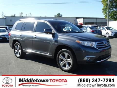 2013 Toyota Highlander for sale in Middletown, CT