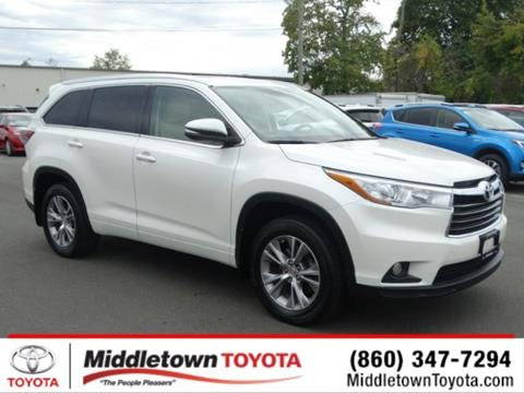 2015 Toyota Highlander for sale in Middletown, CT