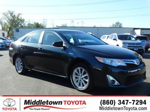 2014 Toyota Camry Hybrid for sale in Middletown, CT