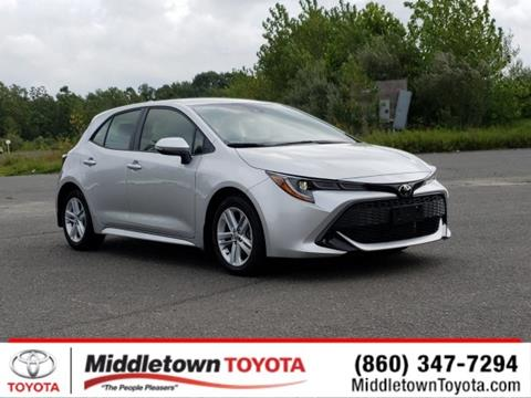 2019 Toyota Corolla Hatchback for sale in Middletown, CT