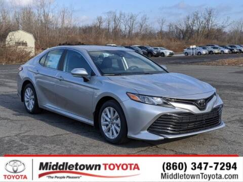 2020 Toyota Camry LE for sale at MIDDLETOWN TOYOTA in Middletown CT