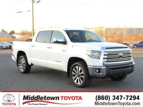 2018 Toyota Tundra Limited for sale at MIDDLETOWN TOYOTA in Middletown CT