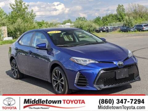 2017 Toyota Corolla L for sale at MIDDLETOWN TOYOTA in Middletown CT