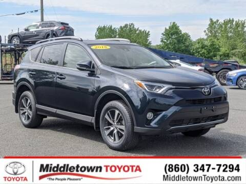 2018 Toyota RAV4 XLE for sale at MIDDLETOWN TOYOTA in Middletown CT