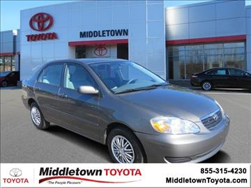 2008 Toyota Corolla for sale in Middletown, CT