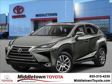 2015 Lexus NX 200t for sale in Middletown, CT