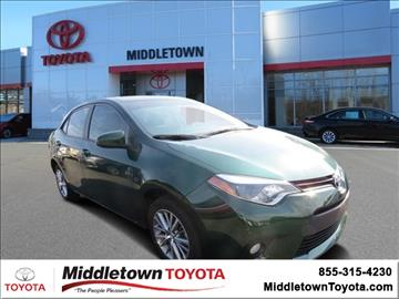 2014 Toyota Corolla for sale in Middletown, CT