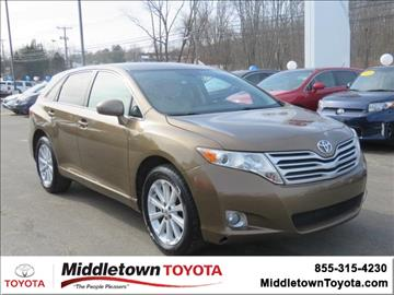 2010 Toyota Venza for sale in Middletown, CT