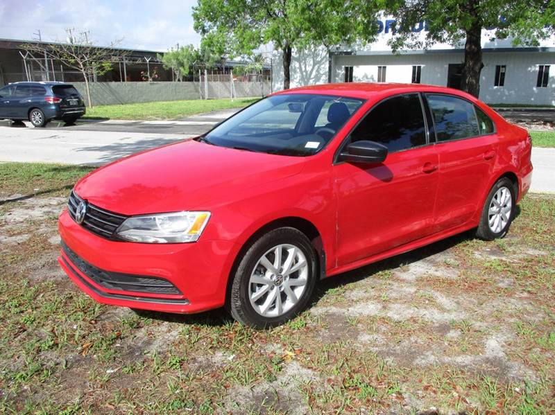 2015 Volkswagen Jetta SE PZEV 4dr Sedan 6A w/Connectivity - Fort Lauderdale FL