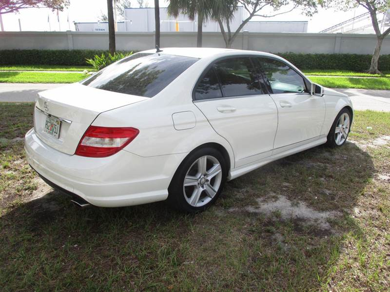 2010 Mercedes-Benz C-Class C 300 Sport 4dr Sedan - Fort Lauderdale FL