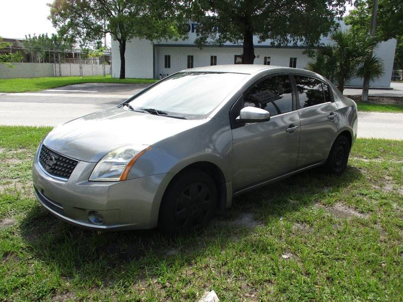 2008 Nissan Sentra 2.0 4dr Sedan - Fort Lauderdale FL