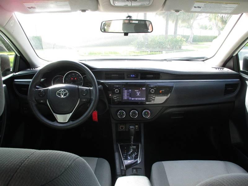 2014 Toyota Corolla LE 4dr Sedan - Fort Lauderdale FL