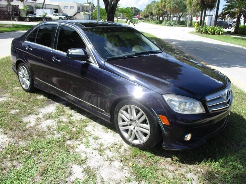 2009 Mercedes-Benz C-Class C 300 Luxury 4dr Sedan - Fort Lauderdale FL