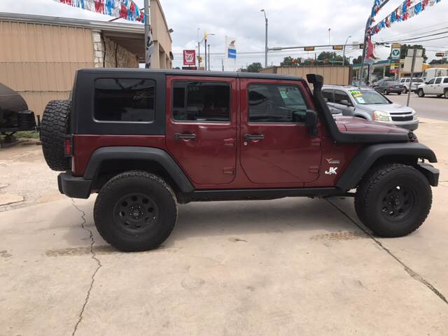 2008 Jeep Wrangler Unlimited 4x4 Rubicon 4dr SUV w/Side Airbag Package - Burnet TX